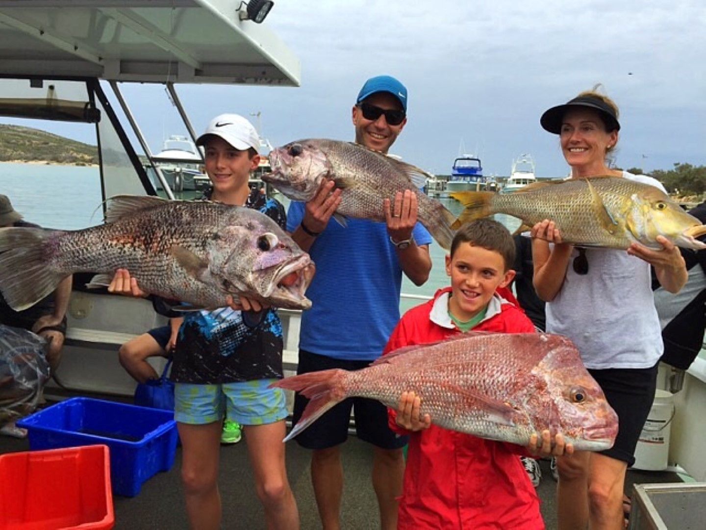 Family Fishing Fun in Kalbarri