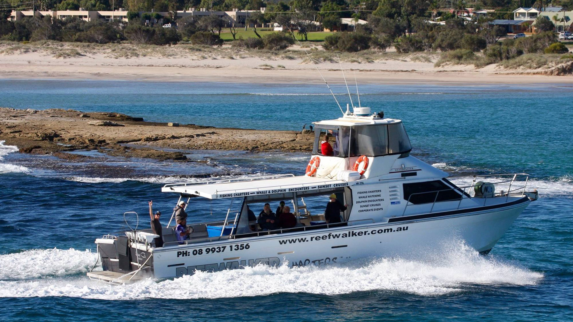 Charter Boat in the River at Kalbarri